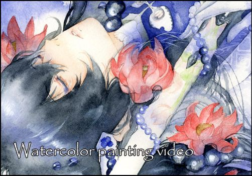 Watercolor painting video V by muttiy