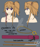 - hair + eye color + accs sheet: Chizuko - by windwalker035