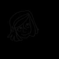 I tried to make an animation by pixel-Inked