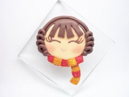 Hermione Granger Chibi Face Paperweight by AutumnLeong