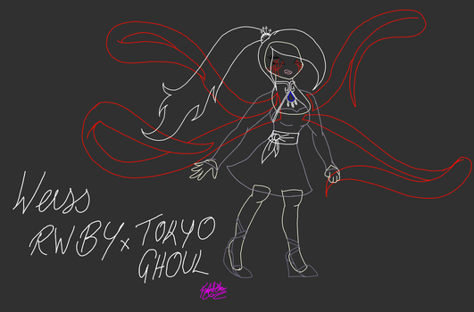 RWBY x Tokyo Ghoul 2 WIP by FightStorm