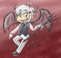 Devil Emmet by teeny-pie-minion
