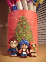 A Mini Legaia Christmas by rose-star