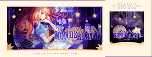 In Wonderland | Actividad Team by JessxFlyller