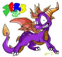 SPYRO T DRAGON by Spyroflamesredsbum
