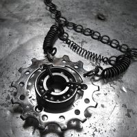 Hardcore Industrial Necklace by InSectusArtifacts