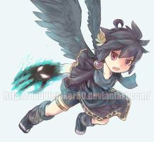 Request:Dark Pit with the Pandora Claws by doublejoker00