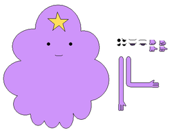 Lumpy Space Princess char builder by ggault
