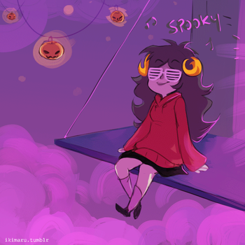 Party Aradia by ikimaru-art