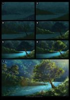 The Jungle Paradise_process by chuaenghan