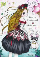 Alice in Wonderland .: 3 :. by zenab-tareef