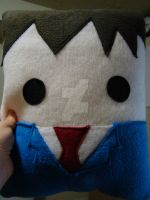 Doctor Who 10th Doctor Pillow by Telahmarie