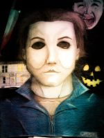 Michael Myers by scruffyruffIes