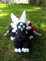 (StD)Cynder Plush by PantTahti (Front) by KrazyKari