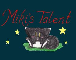 Miki's Story - title pg by de-crnmeistr