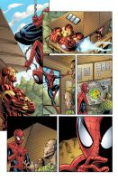 New Avengers: Fireline page1c by chadf