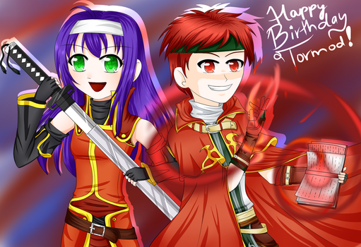 Happy late birthday Tormod~! by Ask--Mia