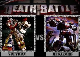 Death Battle: Voltron v.s Megazord by MrLevelzGraffix