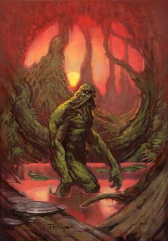 Swamp Thing by troya3000
