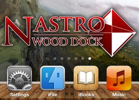 Nastro Wood Dock by HorizonIndustries
