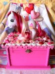 Strawberry Ice Cream My Little Pony Jewelry Box by lessthan3chrissy