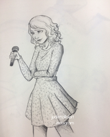 Taylor Swift by juditmallolart