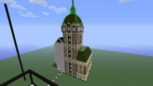 Singer Building and City Investing Building by Spyrobandi