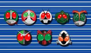 Kamen Rider Icons by Psychotime