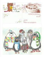 Christmas Card Project 2013 page 1 by momentaifey