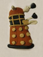 Dalek Refrigerator Magnet by TheCrimsonCrow