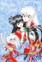 Inuyasha Family by IsisConstantine