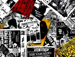 Death By Flyers -Punk- by RattWallpapers