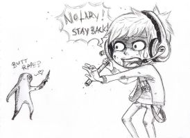Pewdie in Silent Hill by psycho-bunny-bunny