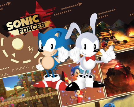 Sonic Forces character creation by SonicTheBlueStar