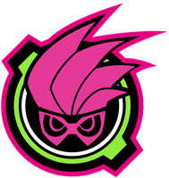 Gashat Mighty Action X Logo by raidenzein