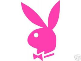 Pink Playboy Bunny by StarrFire1991