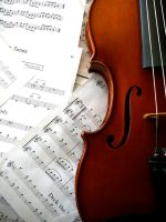 Violin by BelleMeansBeautiful