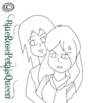 Princess Hikari is being kidnapped lineart RQ by BlueRosePetalsQueen