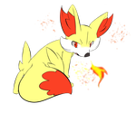 Fennekin by Fly-Sky-High