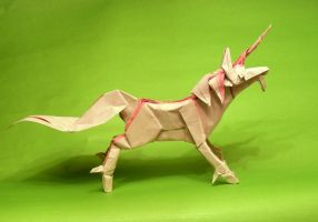 Origami Unicorn 2 by Orestigami