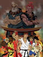 SF2 Tribute: Rivals by thelearningcurv