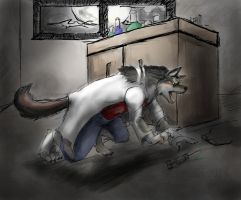 Laboratory Lycanthrope by Ageaus