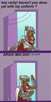 ask ezio auditore da equestria: beauty sleep by Lucandreus