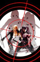 Hawkeye and Mockingbird 3 by PaulRenaud