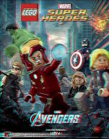 Lego Avengers 3D Anaglyph by xmancyclops