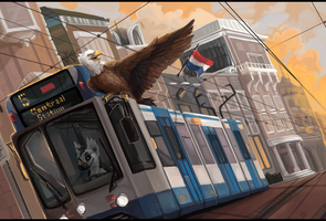Amstertram by ALRadeck