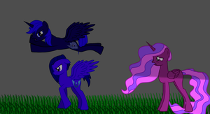 Lunar and Eclispe Discorded. by The-Everlasting45