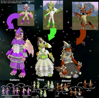 Cullers Shay and Abusul spore updates by PukingRainbow