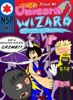 Unicorn Wizard!!! ISSUE ONE COVER! by teenvid