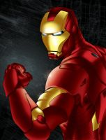 Iron Man by sean-izaakse